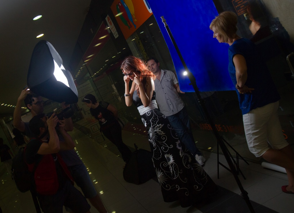 Sesión fotográfica con Miss Rioja