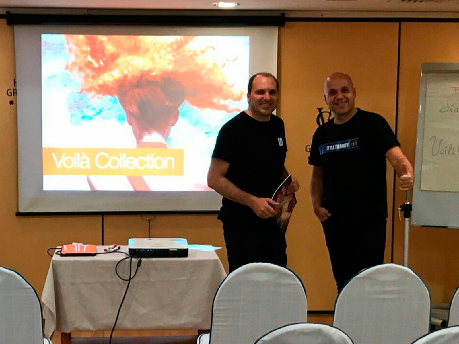A29 Peluqueros, Colaboración con Intercosmo